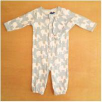 Macacão e Touca Carter`s 9m Azul Menino - 9 meses - Carter`s