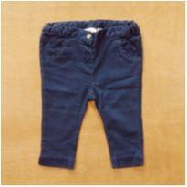 Calça Azul Chicco 9m - 9 meses - Chicco