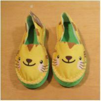 Alpargata Amarela tam 24/25 - 24 - Cupcake Shoes