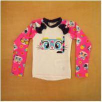 Camiseta UV Menina Puket 9-12m - 9 a 12 meses - Puket