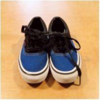 Tênis Vans Azul Tam 26 - 26 - Vans