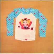 Camiseta UV Menina Novo com Etiqueta Puket 4 anos - 4 anos - Puket