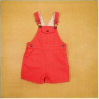 Jardineira Vermelha Zara 3-6m Unisex - 3 a 6 meses - Zara
