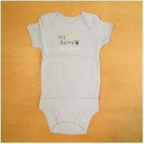 Body Infantil Azul Carter`s 24 meses Novo - 2 anos - Carter`s
