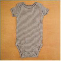 Body Infantil Listras Carter`s 6 meses - 6 meses - Carter`s
