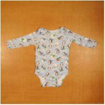 Body Pinguim 6m Semi Novo Up Baby - 6 meses - Up Baby