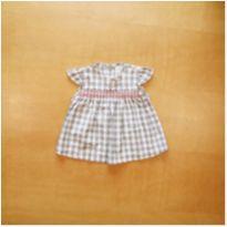 Vestido Baby Fashion 6-9 meses - 6 a 9 meses - Baby fashion