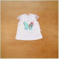 Camiseta Brincar é Arte Baby 6 a 9 meses - 6 a 9 meses - brincar é arte