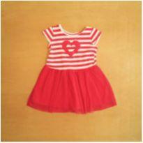 Vestido Rosa Duduka 12 a 18 meses - 12 a 18 meses - Duduka