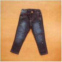 Calça Jeans rasgada 2 anos - 2 anos - sem etiqueta