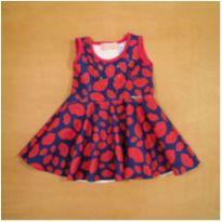 Vestido Beijos Pituchinhu`s 2 anos - 2 anos - Pituchinhus