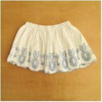 Saia Branca e Azul Zara 5/6 Anos - 5 anos - Zara