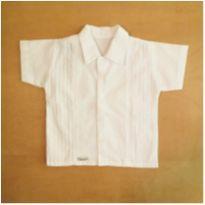 Camisa Branca 9 Meses Piu Ducci - 9 meses - Piu Ducci