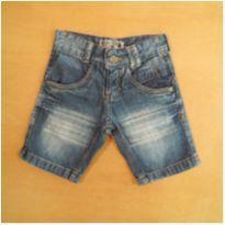 Bermuda Jeans Mega Teen 4 Anos - 4 anos - Mega Teen