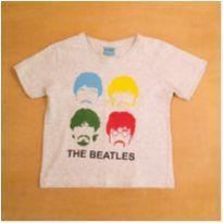 Camiseta The Beatles Cinza 4 Anos Bendita Augusta - 4 anos - Bendita Augusta