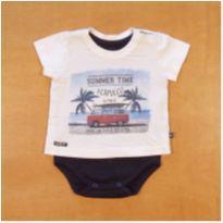 Camiseta Body Acapulco Sleeping Pill 0 a 3 meses - 0 a 3 meses - Sleeping Pill