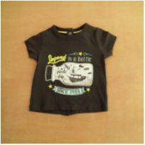 Camiseta Kiabi 1 Mês - 0 a 3 meses - Kiabi
