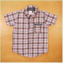 Camisa Xadrez Alenice 4 Anos - 4 anos - Alenice