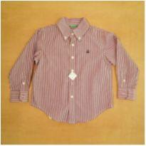 Camisa Manga Longa 3 Anos United Colors of Benetton - 3 anos - Benetton