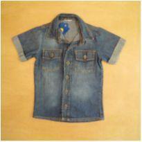 Camisa Jeans 3 anos - 3 anos - sem etiqueta