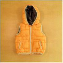 Colete Acolchoado Laranja Zara 12-18 Meses - 12 a 18 meses - Zara