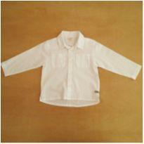 Camisa Branca Green 18-24 Meses - 18 a 24 meses - Green