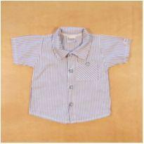 Camisa 3 a 6 meses - 3 a 6 meses - sem etiqueta