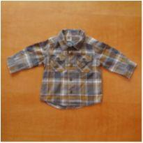 Camisa Manga Longa Carter`s 6 Meses - 6 meses - Carter`s
