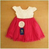 Vestido de Princesa Rosa Miss Bella 3-6 Meses Novo com Etiqueta - 3 a 6 meses - Sem marca