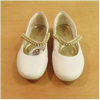 Sapato Branco Pampili Tamanho 30 - 30 - Pampili