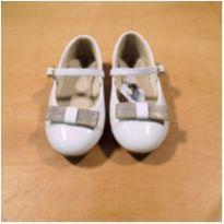 Sapato Branco Klassipé Tamanho 25 - 25 - KLASSIPE