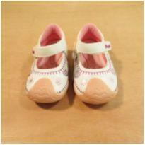 Sapato Branco e Rosa Mimopé Tamanho 18 - 18 - Mimopé