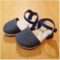 Sandália Azul Pampili Tamanho 19 - 19 - Pampili