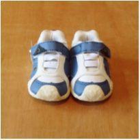 Tênis Branco e Azul Ortopasso Tamanho 16 - 16 - Ortopasso