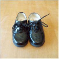 Sapato Social Preto em Verniz Ortopasso Tamanho 24 - 24 - Ortopasso