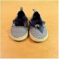 Sapato Azul Baby B`gosh Tamanho 16 - 16 - OshKosh