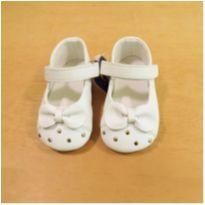 Sapato Branco Chicco Tamanho 19 - 19 - Chicco