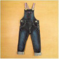Jardineira 2 Anos Ok Jeans - 2 anos - Ok Jeans