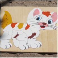 Quebra-cabeças Gatinho -  - Sem marca