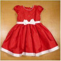 Vestido Vermelho de Festa 3 Anos Petit Cherie - 3 anos - Petit Cherie