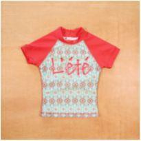 Camiseta Proteção Solar UV L`été 2 anos - 2 anos - Leté