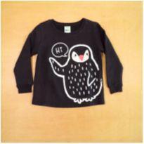 Blusa de Moletom Flanelado Pinguim PUC 2 Anos - 2 anos - PUC