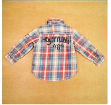 Camisa Xadrez H&M 2-3 Anos - 2 anos - H&M
