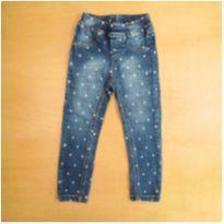 Calça Jeans Corações 2 anos Mania Kids