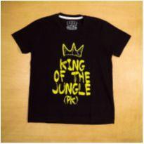 Camiseta Preta PK 8 Anos