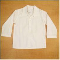 Camisa Branca Emporio Baby 3 Anos - 3 anos - Emporio Baby