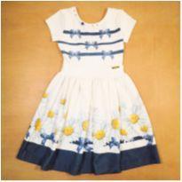 Vestido Margarida Kiki Xodó 10 anos - 10 anos - Kiki Xodó