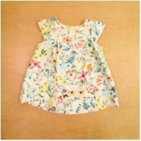 Vestido Zara Flores 3-6 Meses Gemeas - 3 a 6 meses - Zara