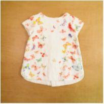 Vestido Zara Borboletas 3-6 Meses Gemeas - 3 a 6 meses - Zara