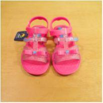 Sandália Pink Glitter Grendene Tamanho 25 - 25 - Grendene